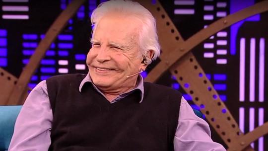 Cid Moreira revela seu segredo para longevidade: 'Deixei de comer carne há 30 anos'