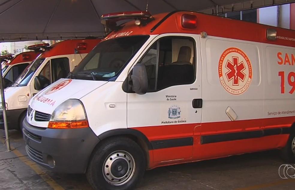 Repasse era destinado à manutenção de ambulâncias e motolâncias do Samu de Goiânia (Foto: Reprodução/TV Anhanguera)
