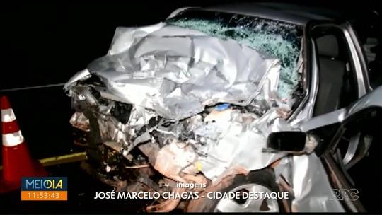 Jovem morre após bater carro de frente com micro-ônibus na BR-368