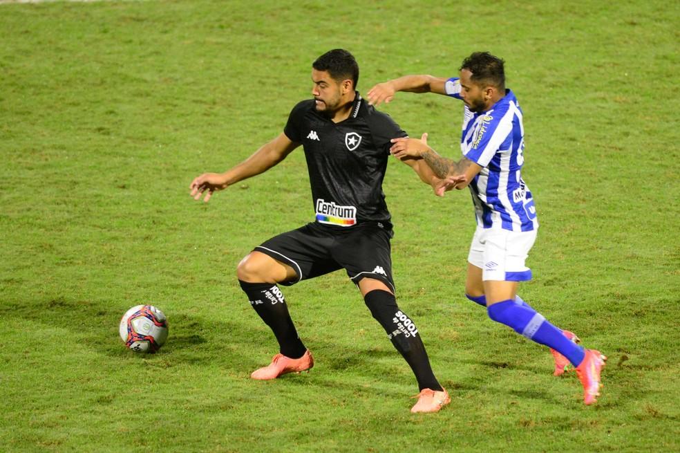 Barreto não fez bom jogo contra o Avaí — Foto: iShoot Photography/Futura Press