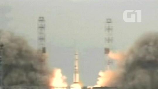 Sonda espacial parte em direção a Marte para buscar sinais de vida