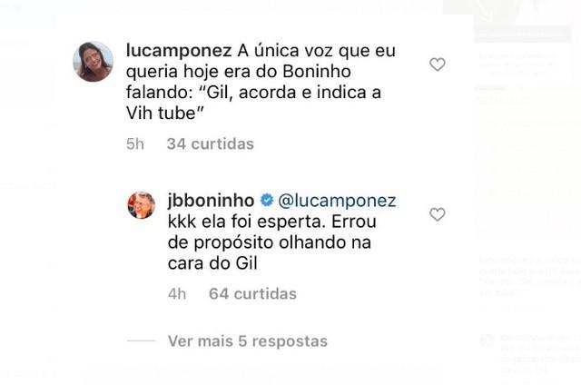 Boninho diz que Viih Tube errou prova do líder de propósito (Foto: Reprodução)