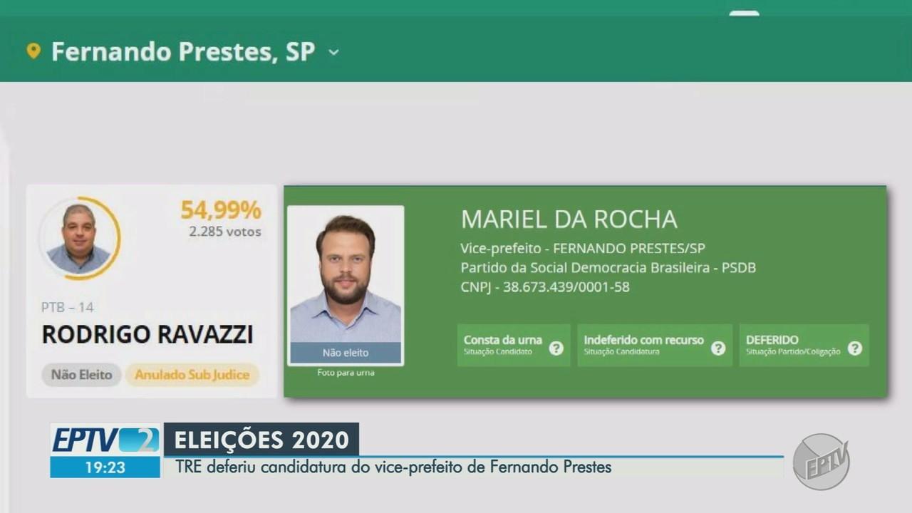 TRE defende candidatura de vice e confirma eleição de Rodrigo Ravazzi em Fernando Prestes