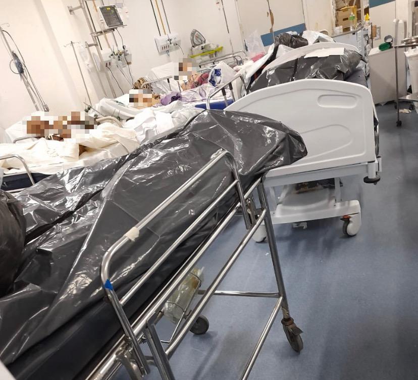 Ministério Público investiga presença de corpos em sacos plásticos ao lado de doentes em hospital no Recife