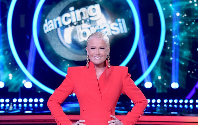 Xuxa no 'Dancing Brasil' (Foto: Divulgação)