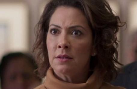 No sábado (23),Nana confessará a Mario (Lucio Mauro Filho) que é apaixonada por ele TV Globo