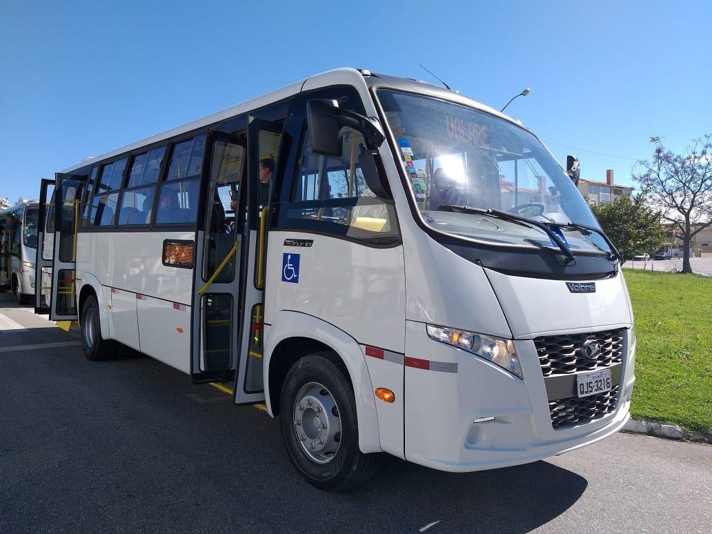 Prefeitura de Florianópolis testa novo modelo de ônibus a partir de segunda-feira - Notícias - Plantão Diário