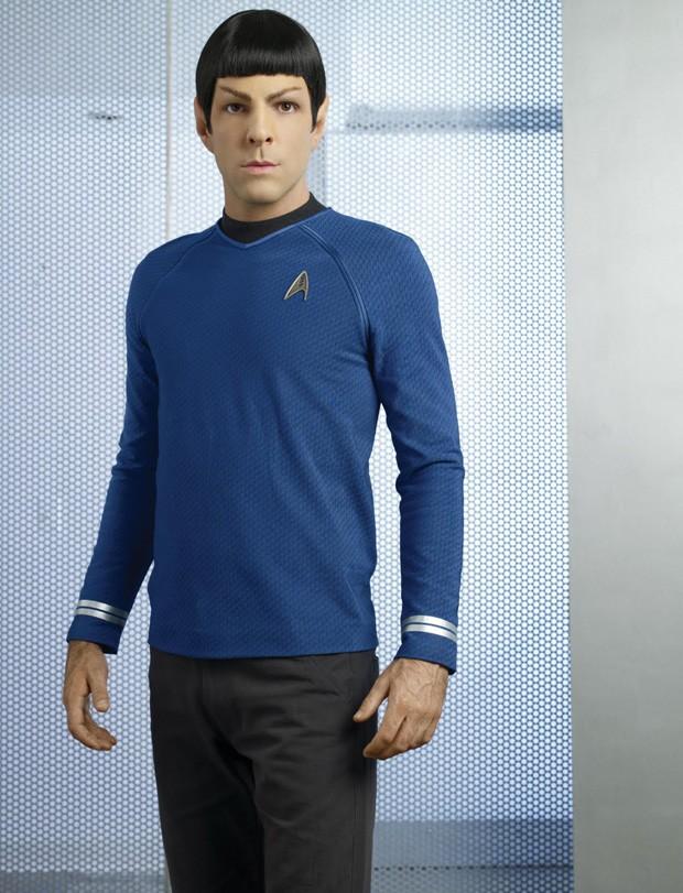 Zachary Quinto como Spock (Foto: Reprodução)