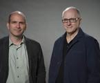 Marcos Bernstein e Carlos Gregório autores de 'Além do horizonte' | TV Globo