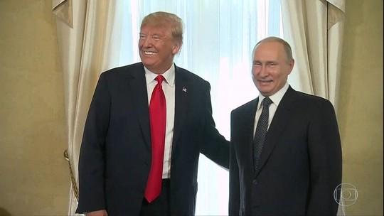 Trump quer 2ª reunião com Putin em Washington ainda neste ano