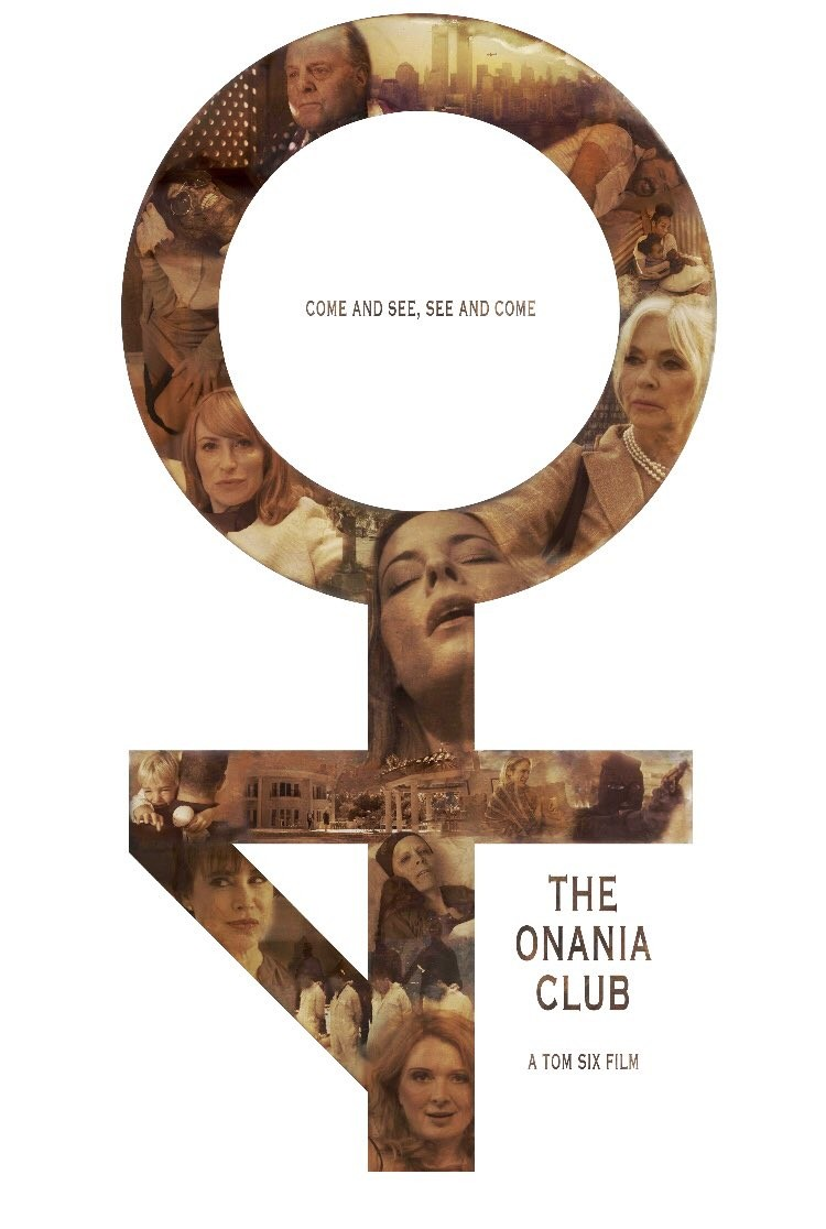 O cartaz do polêmico The Onania Club (Foto: Divulgação)