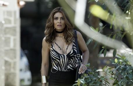 Na sexta (13), Bibi vai pedir que o chefe do tráfico de seu bairro proteja Rubinho na prisão Tv Globo