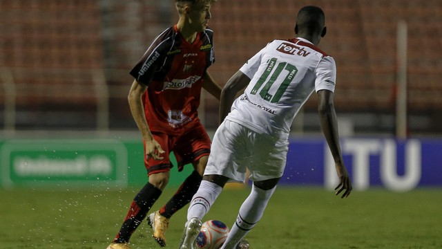 Ituano x Fluminense, Copa SP de Futebol Júnior, em Itu