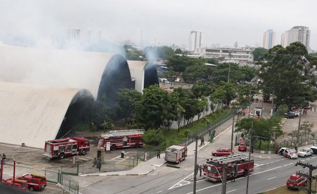 Museu Nacional: relembre outros incêndios em instituições culturais no país (Foto: Eliária Andrade/Agência O Globo)