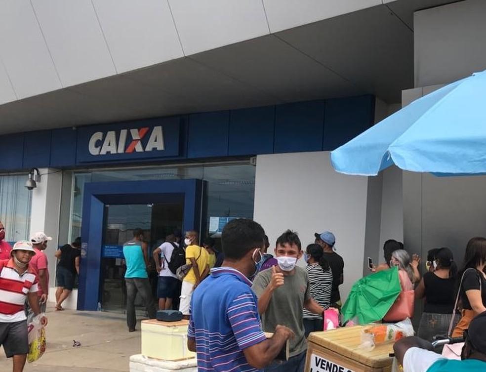 Agência da Caixa em São Gonçalo do Amarante será aberta neste sábado (19) — Foto: Quézia Oliveira/Inter TV Cabugi