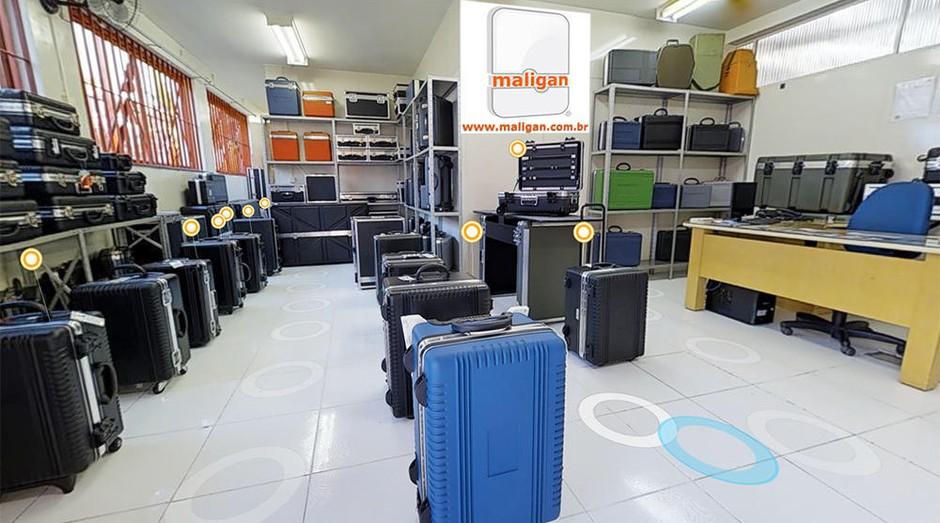 Maligan: negócio oferece malas customizadas para clientes (Foto: Divulgação)