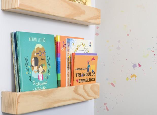 Livros podem ajudar (Foto: Divulgação/ Lz Mini + Fita Arquitetura)