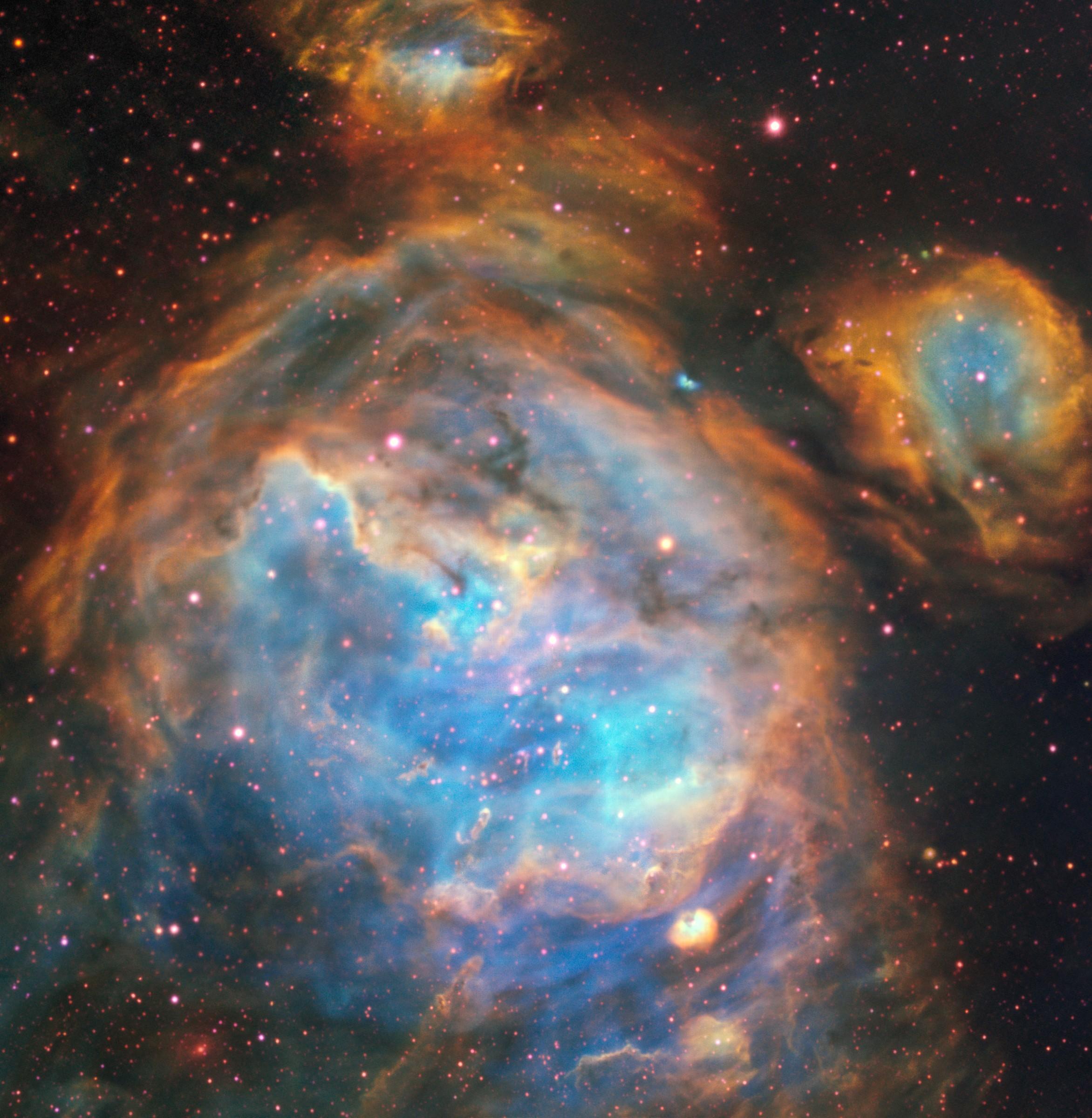 Grande Nuvem de Magalhães (Foto: ESO, A McLeod et al)