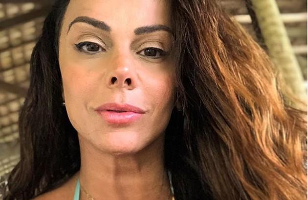 Viviane Araújo, que recentemente interpretou a Neide em 'O Sétimo Guardião', conquistou o prêmio da quinta edição da atração (Foto: Reprodução/ Instagram)