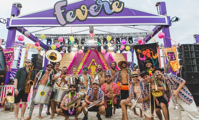 Feverê: festa e shows no carnaval