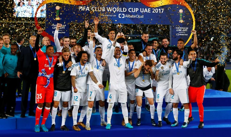 Real Madrid é o atual campeão mundial de clubes (Foto: Reuters)
