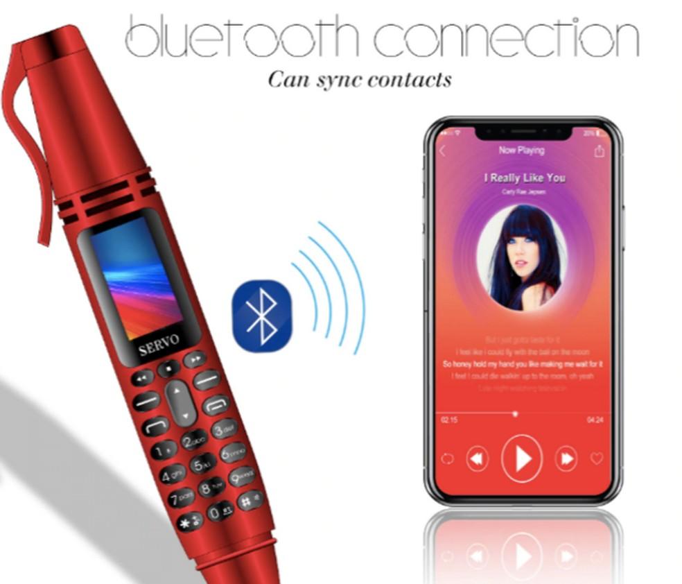 Servo K07 possui bluetooth e se conecta a smartphones — Foto: Reprodução/Ali Express