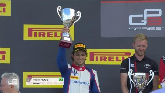 Corrida 2 da GP3: Piquet é segundo na França em resultado inédito para o Brasil