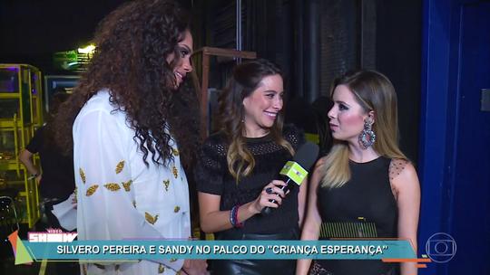 Silvero Pereira comenta dueto com Sandy no 'Criança Esperança': 'Zerei a vida'