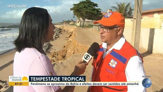 Defesa Civil faz alerta e aulas são suspensas em cidades do sul da Bahia