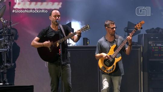 "Dave Matthews Band encerra show no Rock in Rio com ""Ants Marching"""