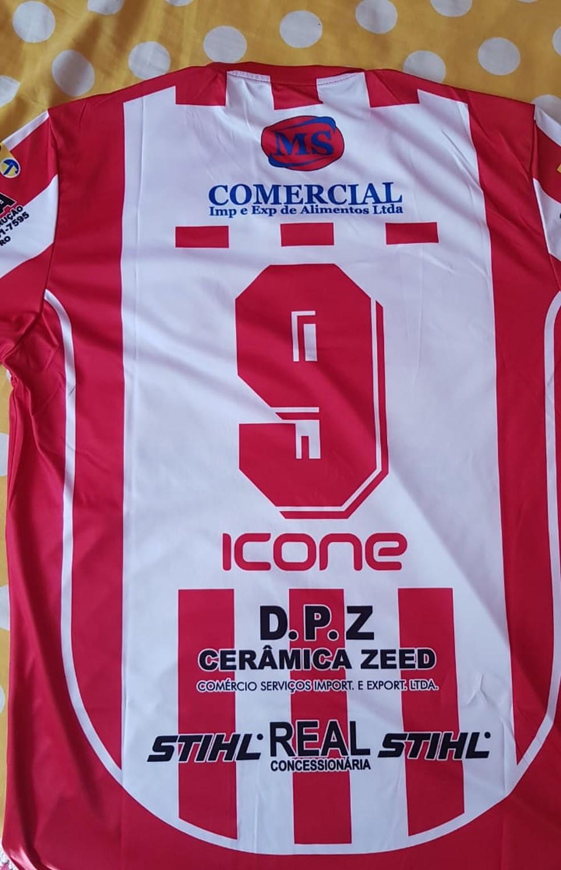 Guajará lança uniforme retrô para torcedores em alusão ao título estadual de 2000 — Foto: Guajará / divulgação