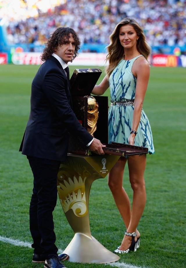 Gisele Bündchen na Copa do Mundo de 2014 (Foto: Getty Images)