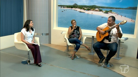 Artistas prestam homenagem a Nossa Senhora da Conceição no JT1