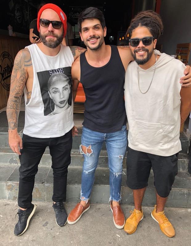 Caruso, Lucas e Viegas (Foto: Divulgação)