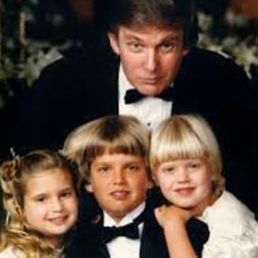 Donald Trump e família (Foto: Reprodução/Instagram)
