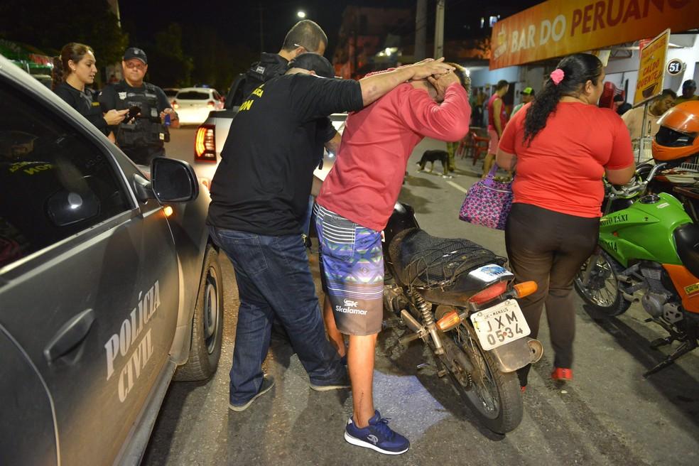Ao todo, 27 pessoas foram presas (Foto: Aguilar Abecassis/Secom)