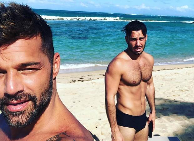 Ricky Martin e o marido, Jwan Yosef (Foto: Reprodução / Instagram)