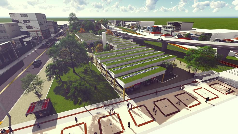 Projeto de remodelação do Camelódromo está orçado em R$ 4,5 milhões — Foto: Reprodução/Prefeitura