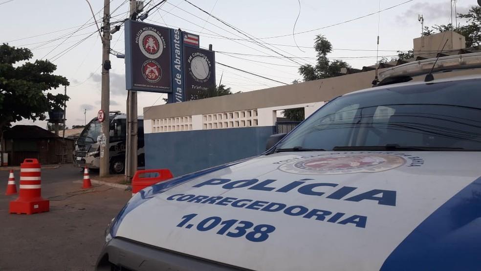 Força tarefa da SSP prende grupo de policiais suspeitos de grilagem de terra e homicídios — Foto: Divulgação / SSP-BA