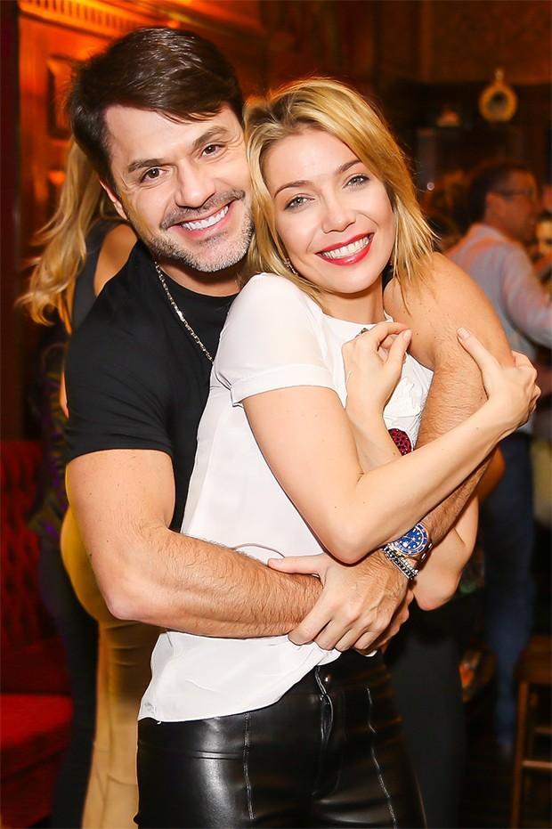 Danilo Faro e Luiza Possi (Foto: Manuela Scarpa/Brazil News)
