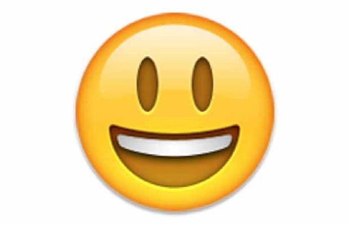 Emoji reúne emoticons, letras, números e símbolos divertidos (Foto: Reprodução)