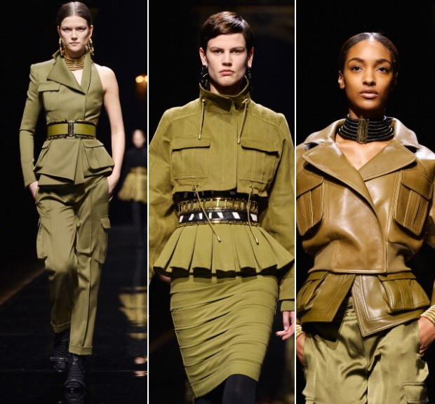 Balmain, inverno 2015 (Foto: Imax Tree e Getty Images)