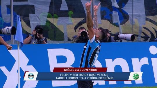 """Após vitória na Copa do Brasil, André Loffredo compara Grêmio a avião: """"Ainda não decolou"""""""