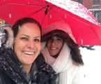 Renata Ceribelli com a filha Marcela | Arquivo pessoal
