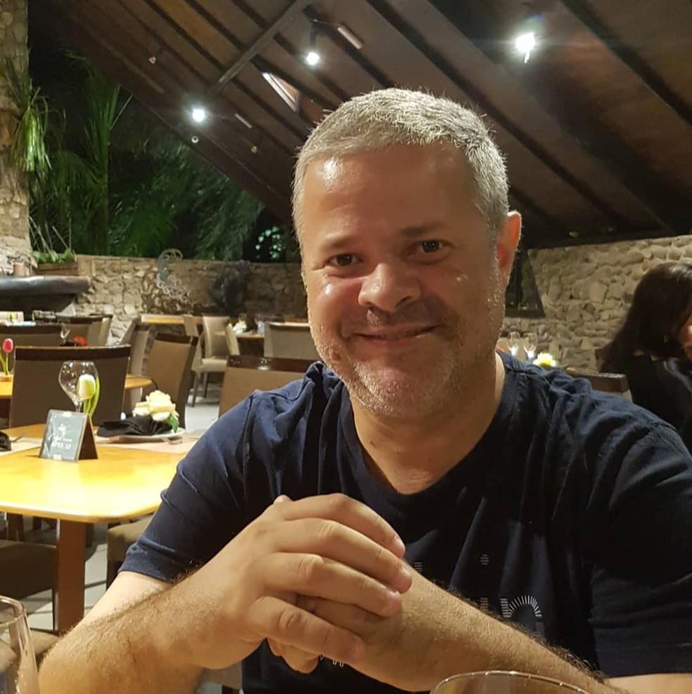 Prefeito de Ceará-Mirim, Júlio César Câmara, afirmou que está com os pulmões comprometidos por causa da Covid-19 e que será internado. — Foto: Reprodução/Facebook