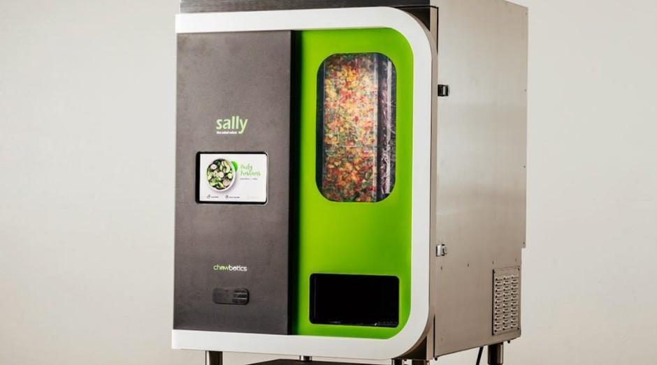 Sally the Robot, máquina capaz de montar saladas sozinha (Foto: Divulgação)