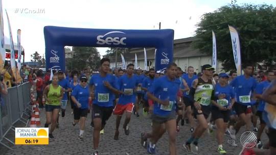 Moradores de Jacobina participam do Circuito Sesc de Corrida e Caminhada
