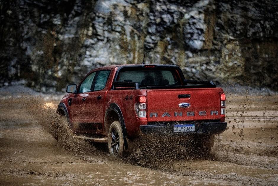 Ford Ranger Storm - Traseira (Foto: Divulgação)