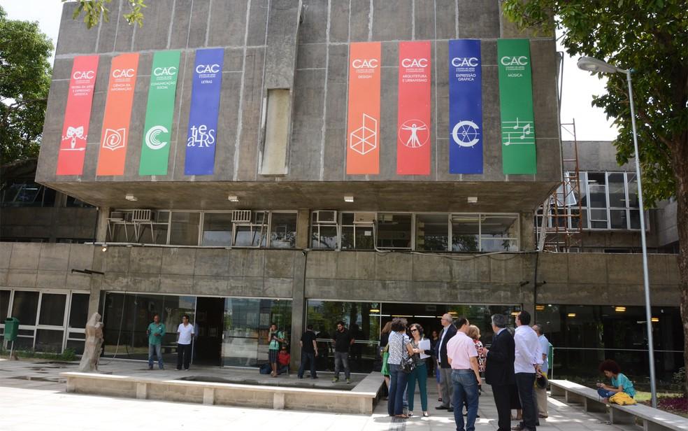 Há três vagas disponíveis para o Centro de Artes e Comunicação da UFPE, que fica no Campus Recife — Foto: Ascom UFPE/Divulgação