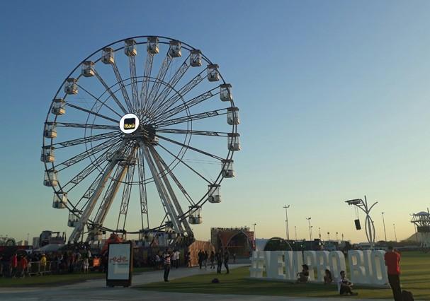 Roda Gigante (Foto: Fernanda Frozza)